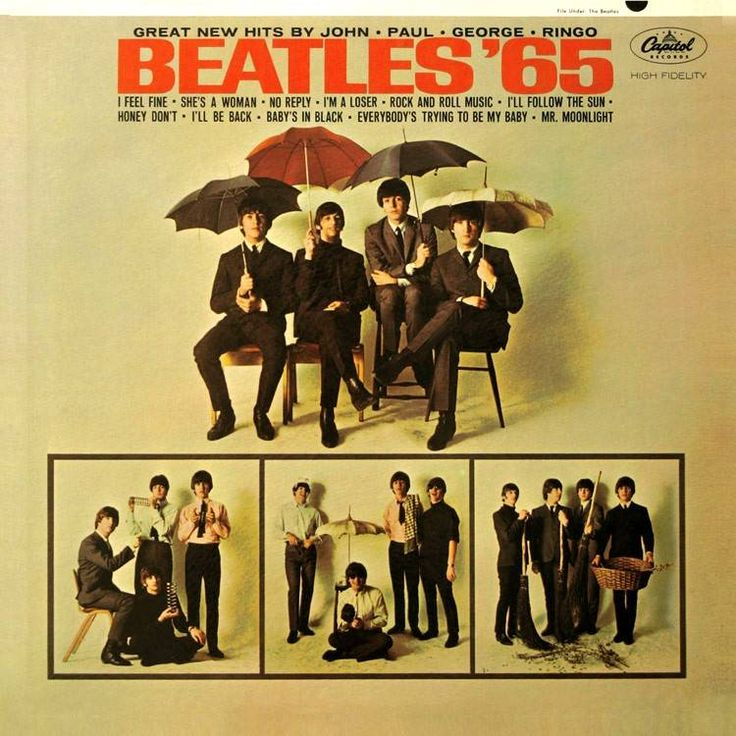 THIS DAY IN ROCK HISTORY: January 9, 1965:  The LP Beatles '65 goes from No. 98 to No. 1 in just one week.  It's a US-only release.  Yes, 98 to No. 1 in just seven days!!!!!  .