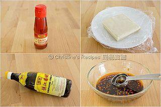 紅油抄手材料 Ingredients of Dumplings in Chilli Sauce by christine.ho, via Flickr