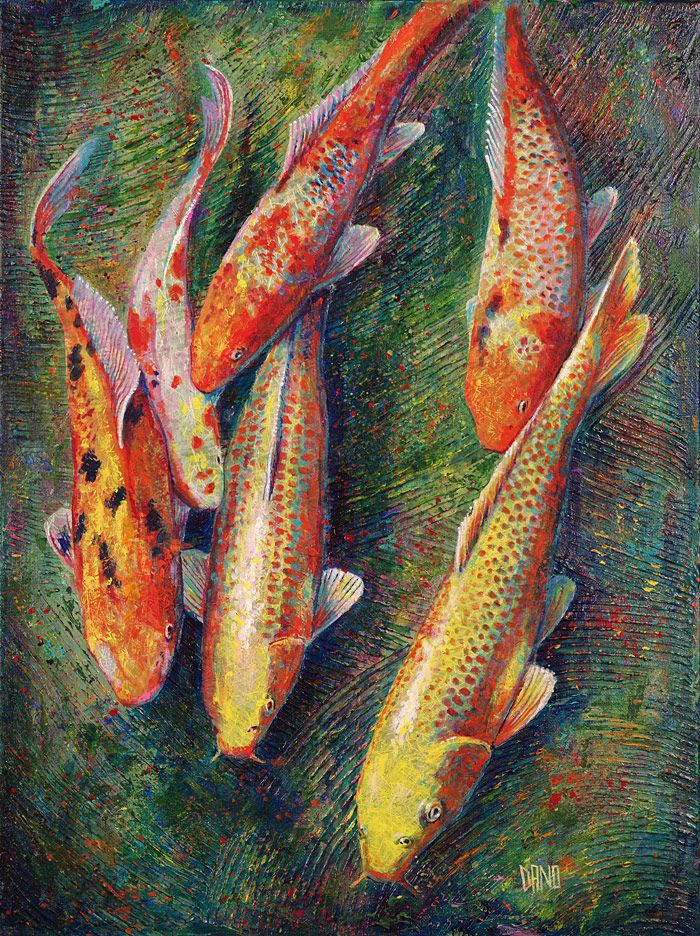 17 best images about koi on pinterest koi art japanese for Japanese fish painting
