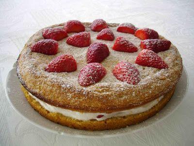 Gateau aux fraises - 4PP/personne