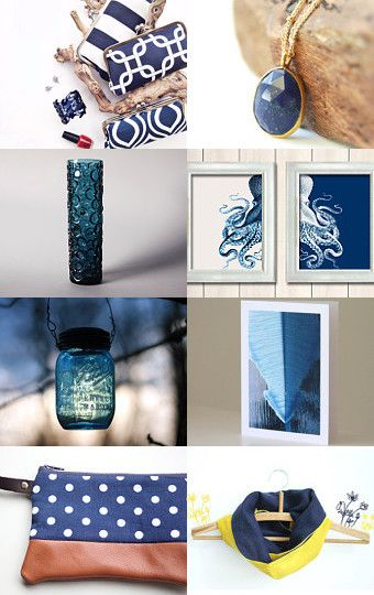 Blues by Lindsay Wurtenberg on Etsy--Pinned with TreasuryPin.com
