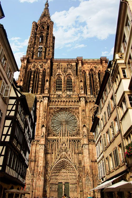 In, Up and Around Strasbourg's Cathedral