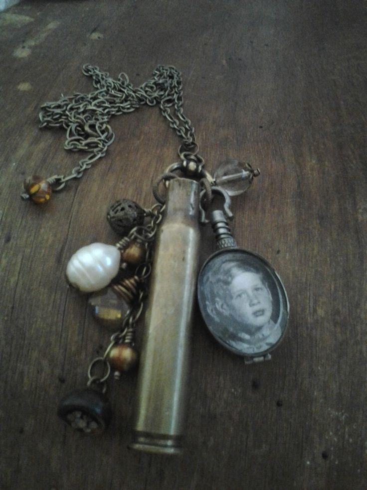 21 gun salute jewelry | Casing memory necklace from 21-Gun Salute