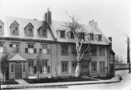Québec (Vieux-Québec) : la maison Montcalm, rue des Remparts, Edgar Gariépy, Fonds Edgar Gariépy, G-2193