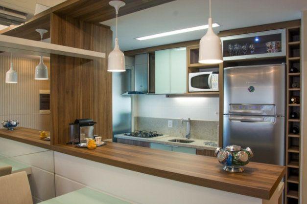 24 cozinhas em estilo corredor projetadas pelo membros do CasaPRO