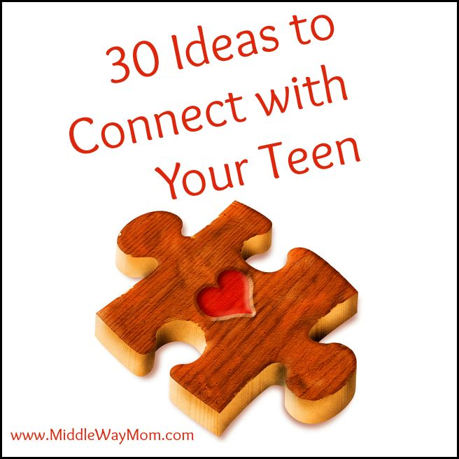 Many topics about parenting teens