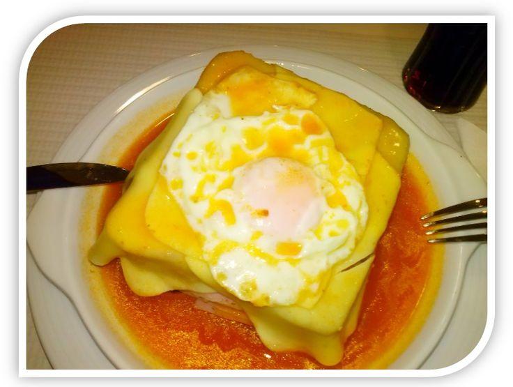 """Receita de Francesinha à Moda do Porto/Recipe Francesinha """"Porto Style"""" #recipe #receita #Portulogia #Portugaal #Francesinha"""