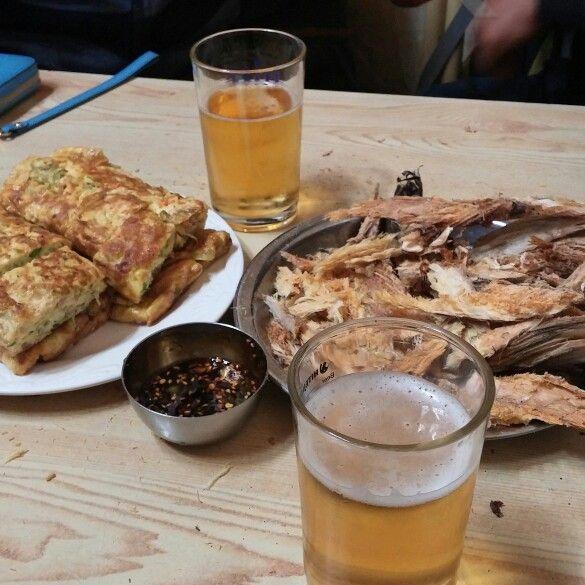Jeonju market beer