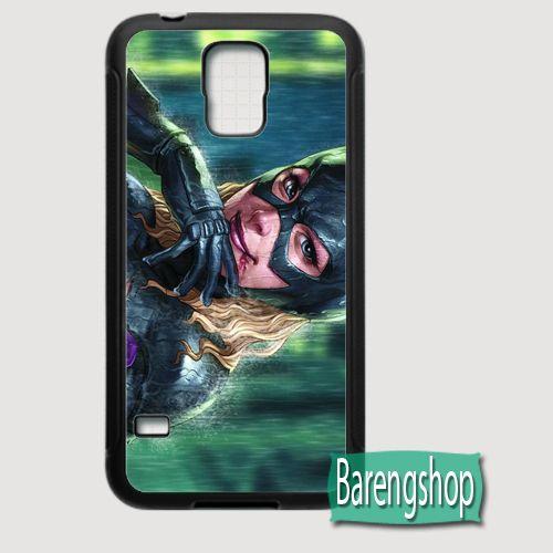 Rubber Case Bat Girl Custom Samsung Galaxy S5 Case