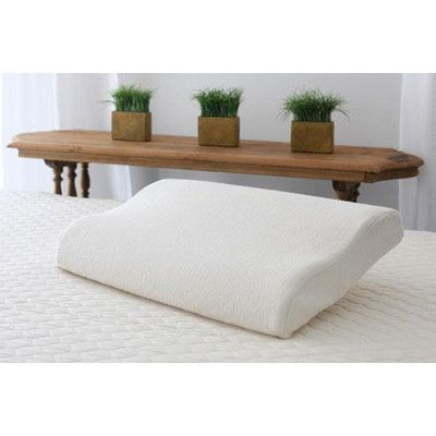 Savvy Rest Dunlop Latex Pillow Size: Queen