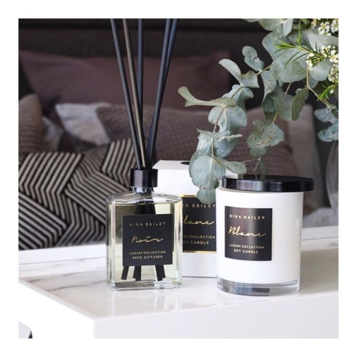 Nina Bailey Diffuser & Soy Candle in Lime Basil Mandarin. Picture and styling by @13interiors