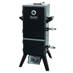 Dyna-Glo 46 in. Vertical Double Door Propane Gas Smoker-DGY784BDP at The Home Depot