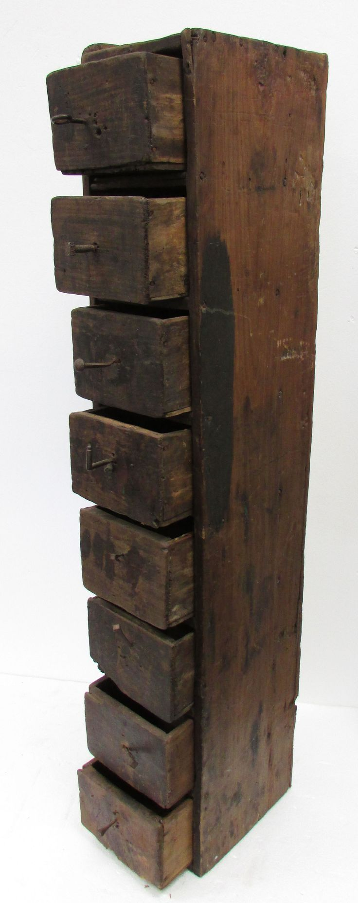 Wooden Storage Cabinets | Antique French Wooden Tool Storage Cabinets  I  Would Love This!