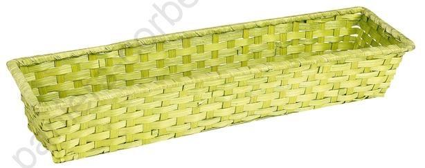 https://www.paniers-corbeilles.com/Corbeilles-en-osier-jonc-de-mer-bambou-corde--0000100-vente/Tres-grande-corbeille-rectangulaire-en-bambou-vert-anis-44x12x7-cm--0002541.html