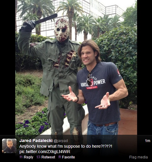 This is the first time I've ever seen Jared look short