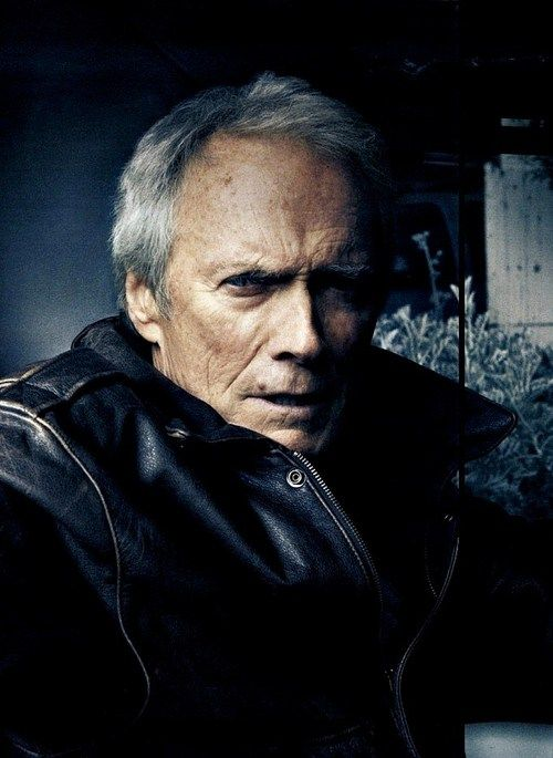 Clint Eastwood by Annie Leibovitz He was good looking back in the day