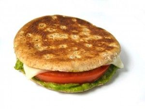 Skinny Grilled Cheese with Avocado and Tomato. Simple is sensational with this delicious, healthy, grilled cheese sandwich! It's terrific for a quick lunch or dinner. Each sandwich has 193 calories, 7 grams of fat, 5 Weight Watchers POINTS. http://www.skinnykitchen.com/recipes/skinny-grilled-cheese-with-avocado-and-tomato%E2%80%A8/