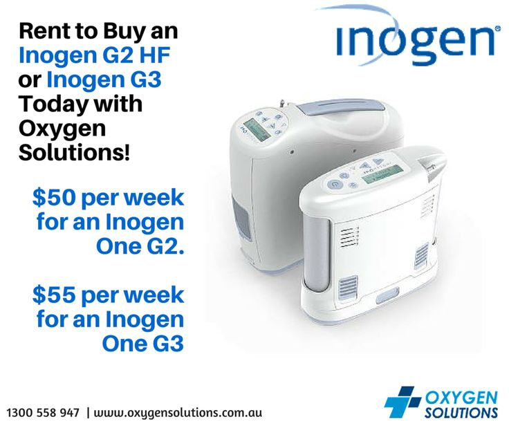Did you know that Oxygen Solutions has a rent to buy promotion where you can opt to purchase either the Inogen G2 HF or the Inogen G3. This program provides you with a brand new Inogen POC. Minimum rental term is 6 months and the agreement must be signed by two family members. Payable via direct debit and ideal for long term hire.$50 per week for an Inogen One G2. $55 per week for an Inogen One G3.http://oxygensolutions.com.au/promotions/