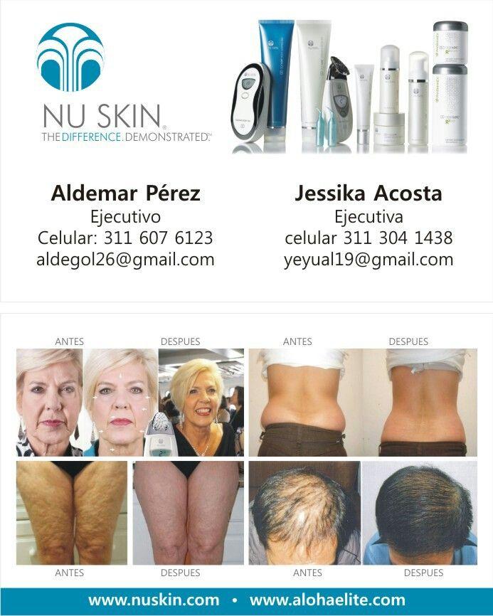 NU SKIN La diferencia demostrada,  productos de belleza,  estética y salud. 100% garantizados