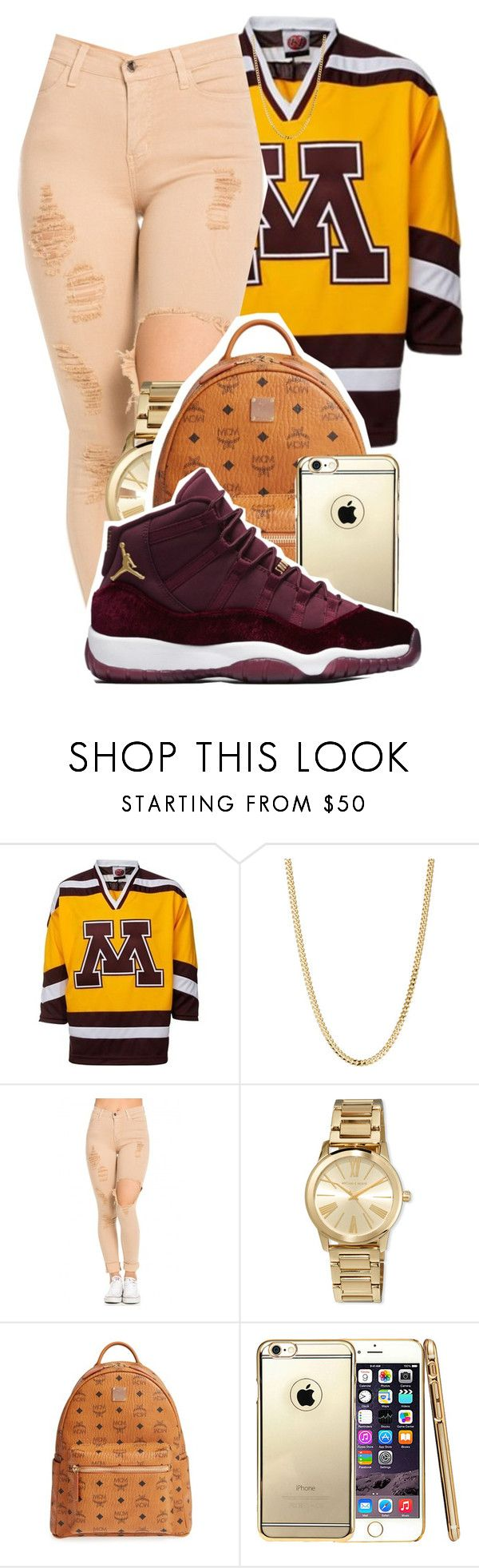 """Tacky Day tomorrow"" by kitty-ma ❤ liked on Polyvore featuring Bianca Pratt, MICHAEL Michael Kors and MCM"