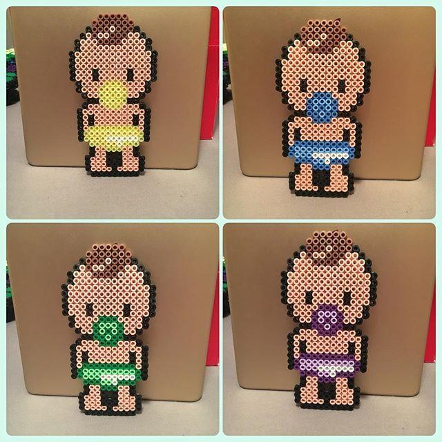 Babies hama beads by parlplattortesalu