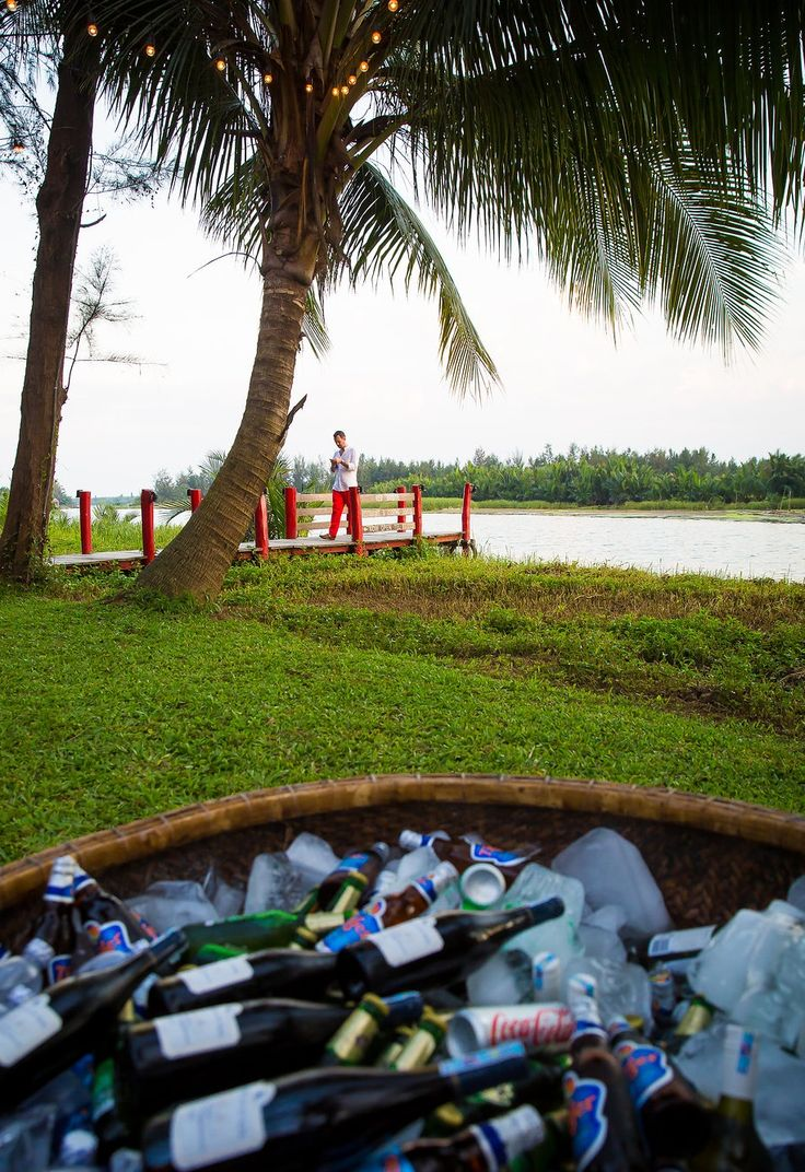 Enjoy a cold drink with a panoramic view