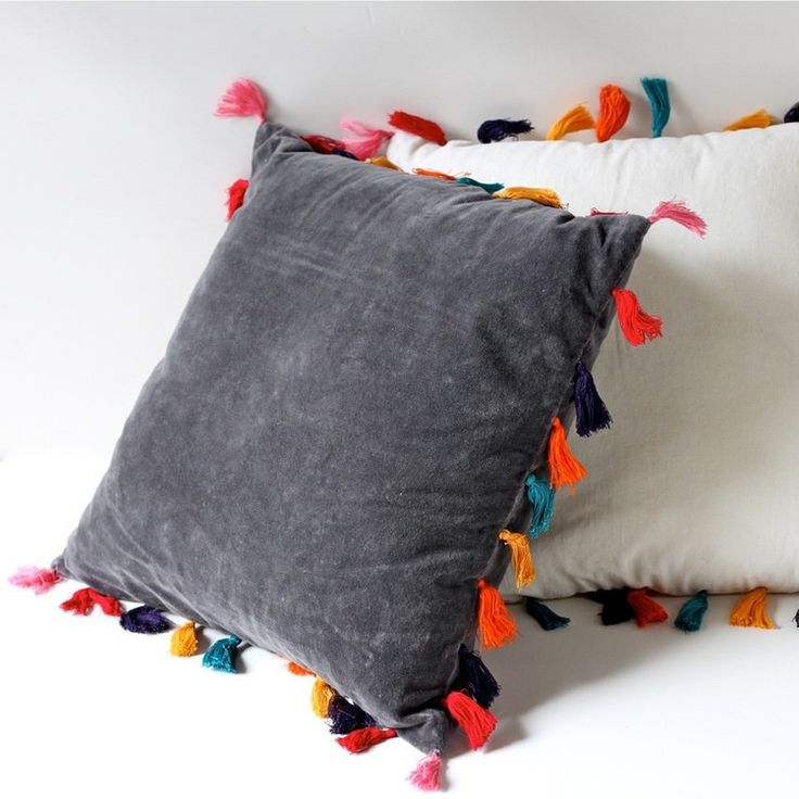 Tassel Cushion By Indigolovecollectors.jpeg