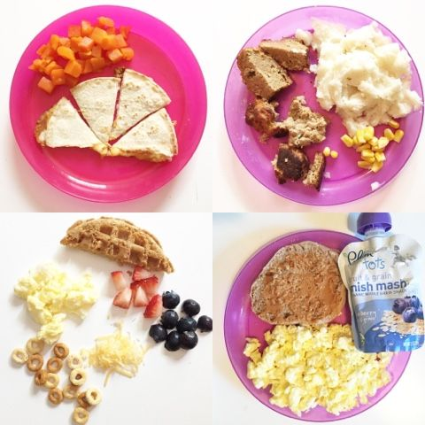 Finger Foods for Toddlers + Babies // Transitioning to Table Food // Mini Meals // Life as a Noel Blog