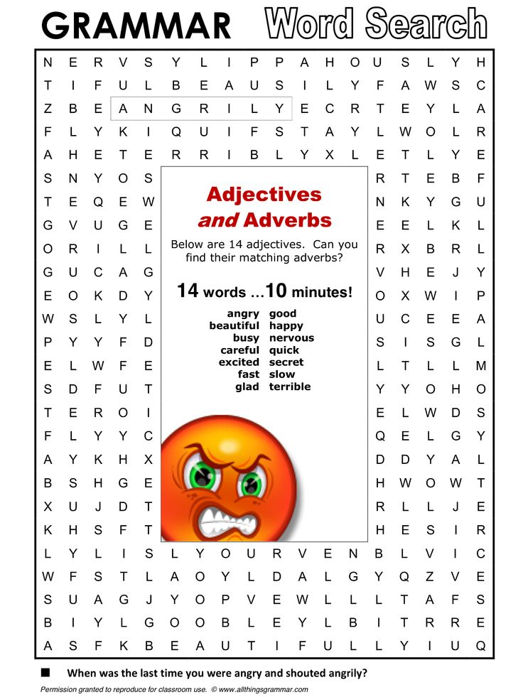 English Grammar Adjectives and Adverbs http://www.allthingsgrammar.com/adjectives-and-adverbs.html