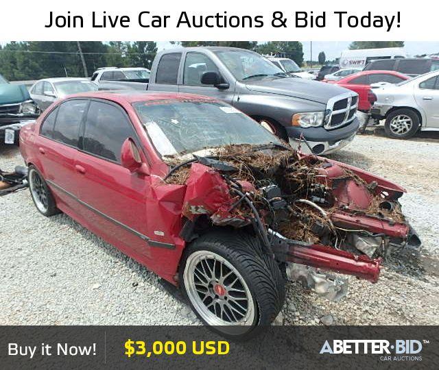 Salvage  2002 BMW M5 for Sale - WBSDE93412BZ99993 - https://abetter.bid/en/vehicle-finder-auto-auctions/salvage-cars-for-sale/bmw/m5/2002-bmw-m5-lot-27876955-copart-loganville-ga-vin-WBSDE93412BZ99993