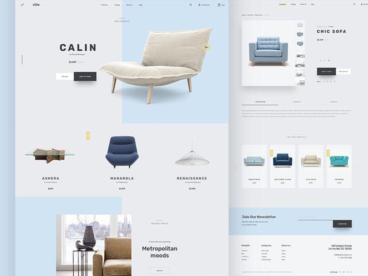Stile Theme - Homepage by KREATIVA Studio