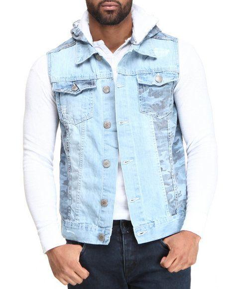 true hookup destructed denim vest True religion men's ricky flap corduroy levi's levis mens 511 slim light destructed denim jeans $158 nautical men's quilted puffer down vest jacket ivory.