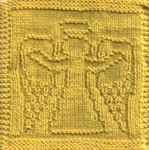 Angel Of Welcome Dishcloth Knit Pattern Kitchen ...