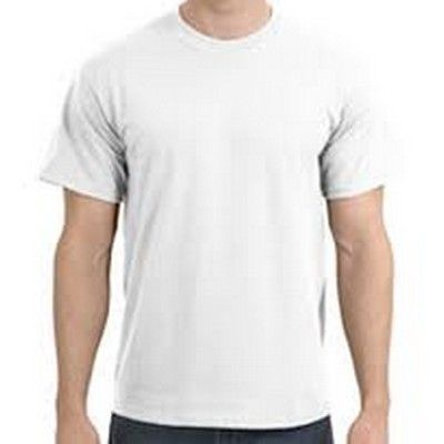 Cotton White T Shirt ON SPECIAL Min 100 - White t shirt with 180 grams fabric and 100% cotton. ORDERS IN SIZE MULTIPLES OF DOZENS ONLY FOR QTY 252 AND ABOVE. #GildanPrintedTShirts #CottonShirt #WomensCottonTShirt #MensCottonTShirt #UnisexCottonTShirt #KidsCottonTShirt #LongSleeveCottonTShirt #VNeckCottonTShirt #CottonTankTop #CottonTeeShirt #FemaleTankTop