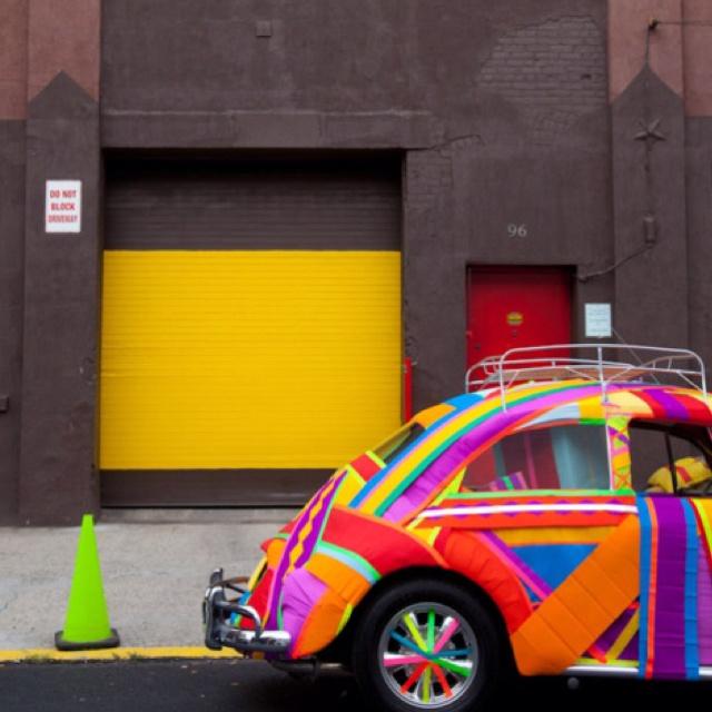 VW: Car, Color Licious, Automobile, Color Misc, Beetle, Veedub, Colorful Bug, Mcolors M, Color Color