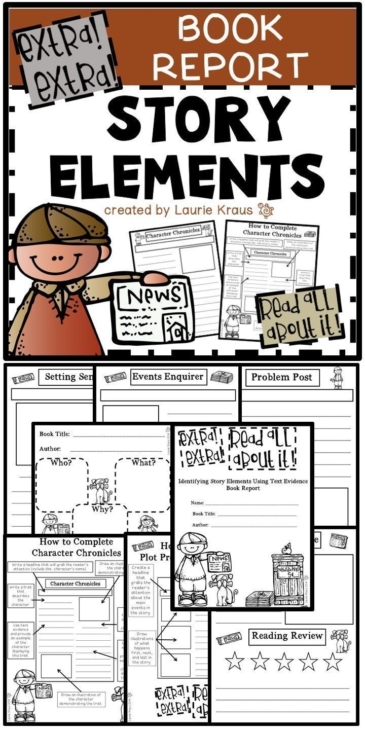 7 elements of a book report Looking for elements of a good book review try the folks at scholastic (how to write a book review by rodman philbrick) elements for fiction book reports include.