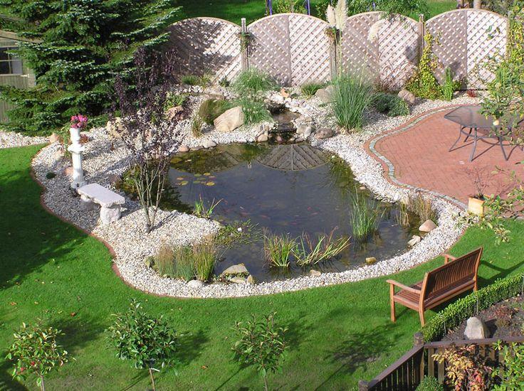 25 best images about gartenteich ideen on pinterest   gardens, Wohnzimmer dekoo