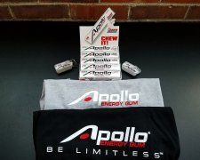Win an Apollo Energy Gum Prize Pack!