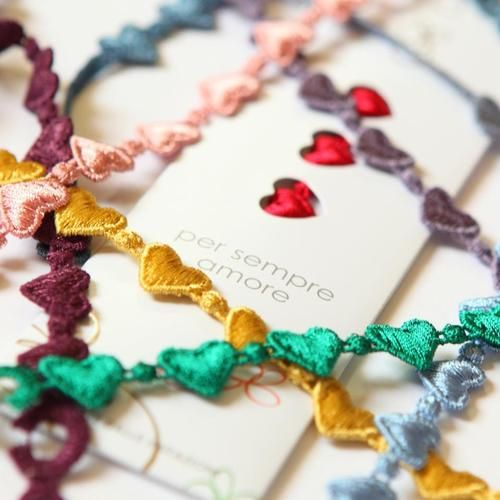 FINDS OF THE DAY: Cruciani bracelets http://crafthunters.com/post/44607370970/cruciani-bracelets#