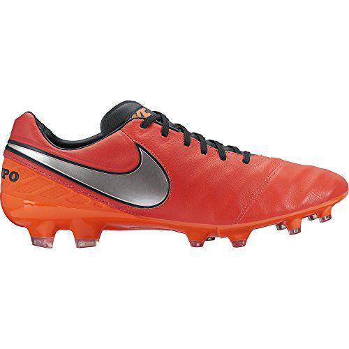 Nike Tiempo Legacy II FG, Herren Fußballschuhe, Rot (Light Crimson/Total Crimson/Metallic Silver), 47.5 EU - http://on-line-kaufen.de/nike/47-5-nike-herren-tiempo-legacy-ii-fg