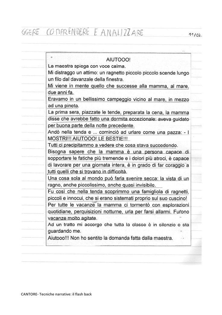 tecniche narrative- il flash back   PDF to Flipbook