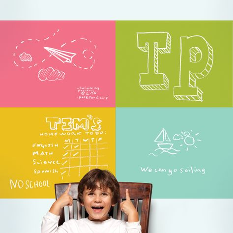 34 best Chalkboard / Dry Erase Wall Decals images on Pinterest ...