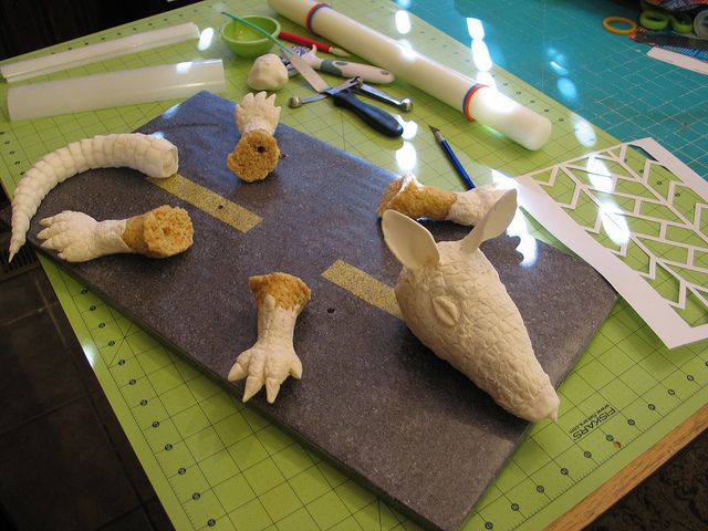 Armadillo Cake 2 (Parts) by RDPJCakes, via Flickr