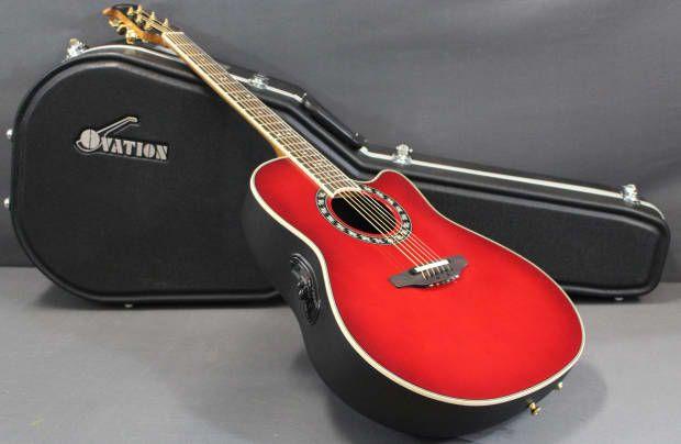 Ovation Legend 2077AX Deep Contour Acoustic/Electric Guitar | Reverb