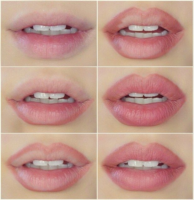 natural pink lips | how-to