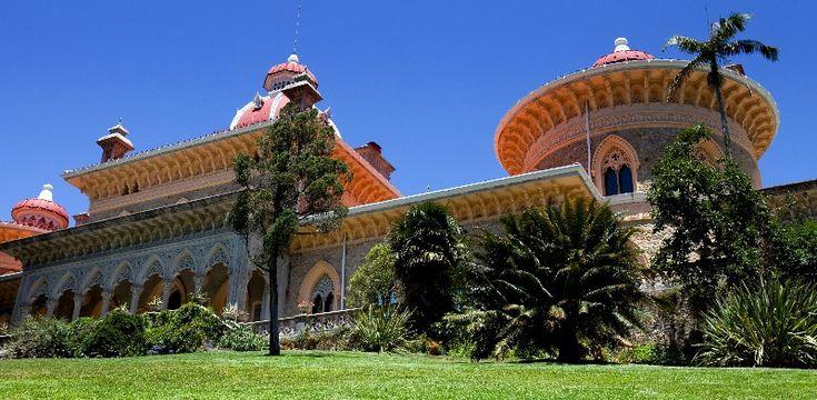 Portugalia - Sintra ma najpiękniej odrestaurowany ogród Europy - Najpiękniejsze miejsca na wakacje - WP.PL, Monserrate Palace, Sintra, Lisbon Region, Portugal