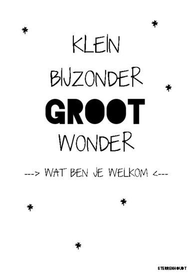 Kaart | Wonder | Sterrenhoudt | Wit - Sterrenhoudt |Designd With Love|