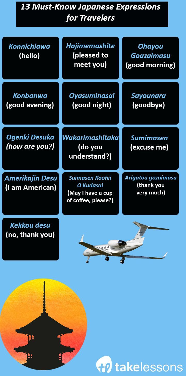 13 Must-Know Japanese Expressions for Travelers