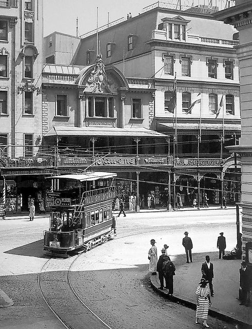 Corner Adderley and Darling Streets 1908| Flickr - Photo Sharing!