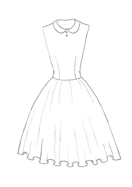easy fashion design sketches - photo #24